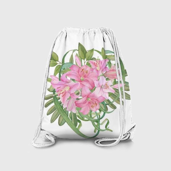 Рюкзак «Букет лилий»