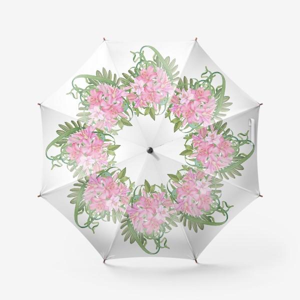 Зонт «Букет лилий»