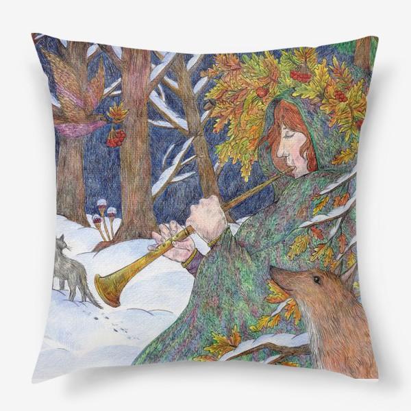 Подушка «Старая добрая сказка»