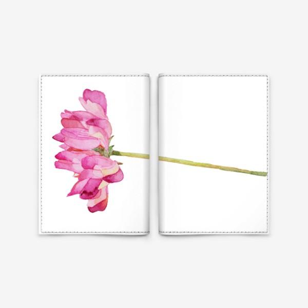 Обложка для паспорта «Цветок полевой»