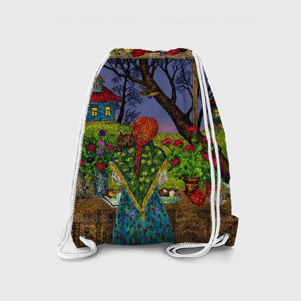 Рюкзак «Сумерки в деревне»