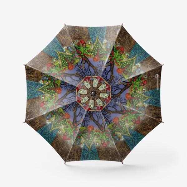Зонт «Сумерки в деревне»