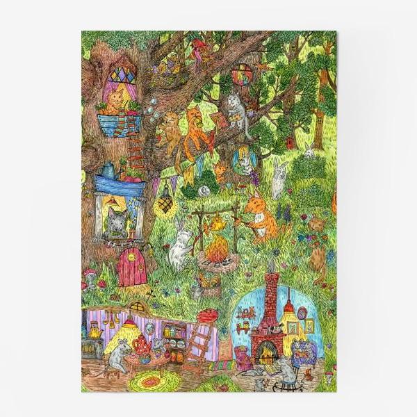 Постер «Лес чудес лето»