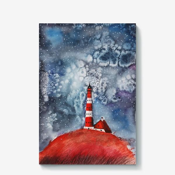 Холст «Ночной маяк»