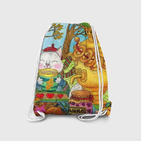 Рюкзак «Чаепитие в ветреный день»