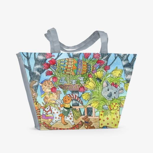 Пляжная сумка «Весенняя радость»