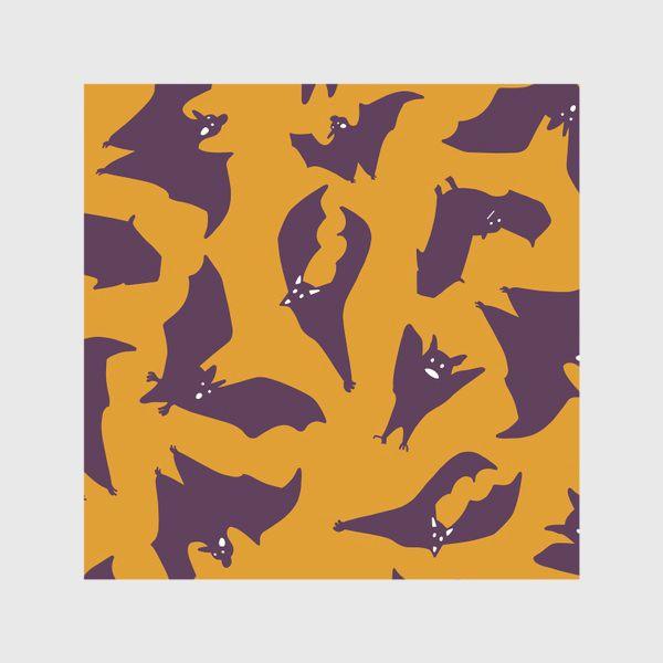 Скатерть «Милые летучие мыши. Хэллуин»