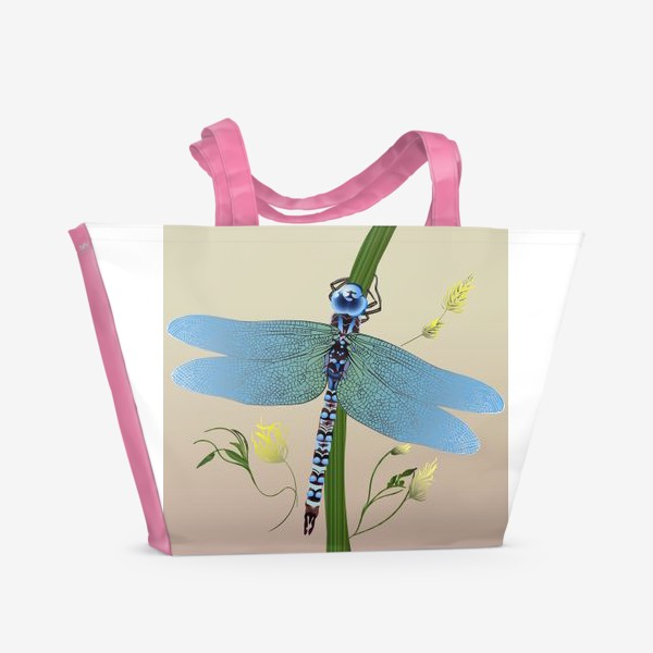 Пляжная сумка «Стрекоза»