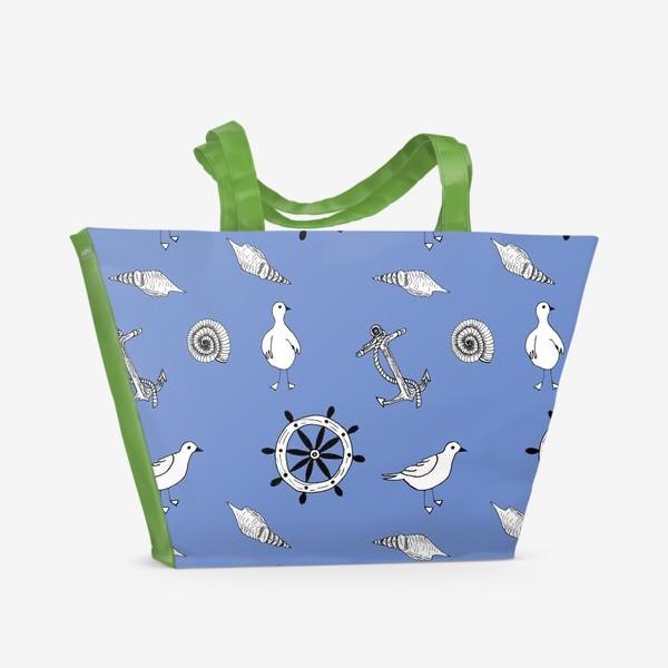 Пляжная сумка «Морское путешествие»