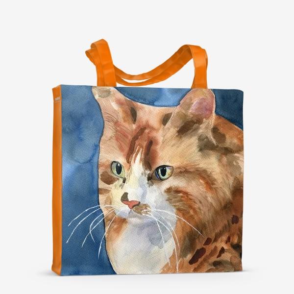 Сумка-шоппер «домашняя кошка»
