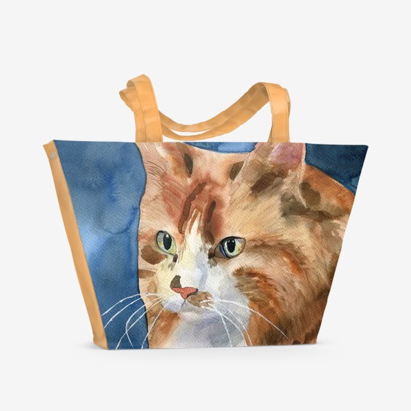 Пляжная сумка «домашняя кошка»