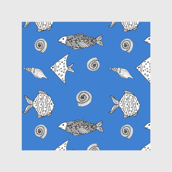 Скатерть «Рыбы и ракушки»