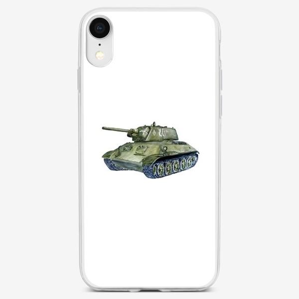 Чехол iPhone «Танк Т-34»