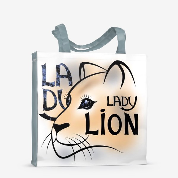 Сумка-шоппер «LADY LION»