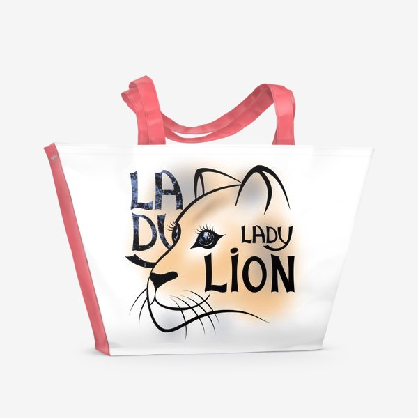 Пляжная сумка «LADY LION»