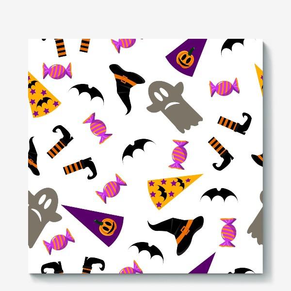 Холст «Паттерн Хэллоуин. »