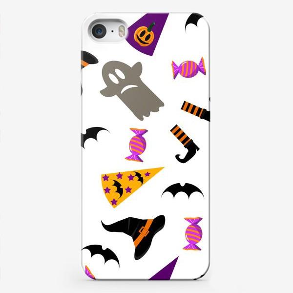 Чехол iPhone «Паттерн Хэллоуин. »
