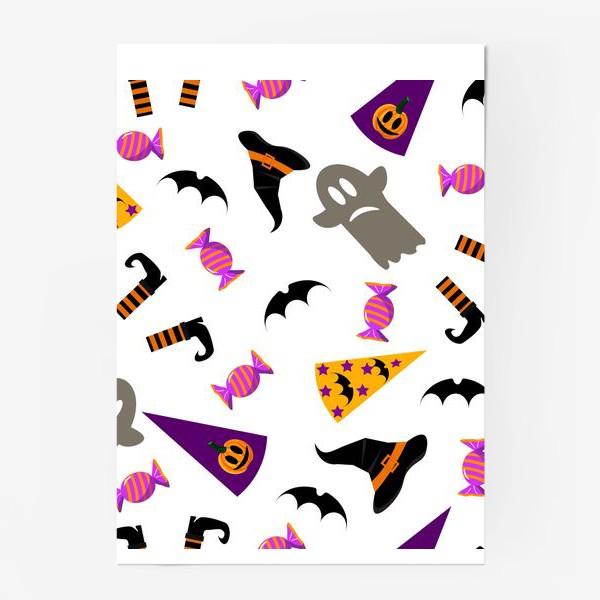 Постер «Паттерн Хэллоуин. »