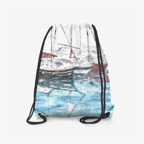 Рюкзак «Морская серия: Яхты»