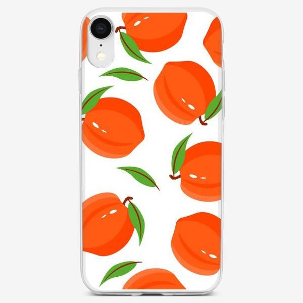 Чехол iPhone «Персики»
