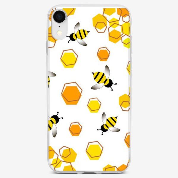 Чехол iPhone «Пчелы»