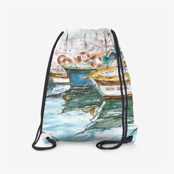 Рюкзак «Морская серия: Лодки»