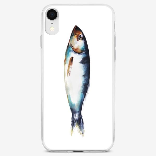 Чехол iPhone «Рыба. Акварель»