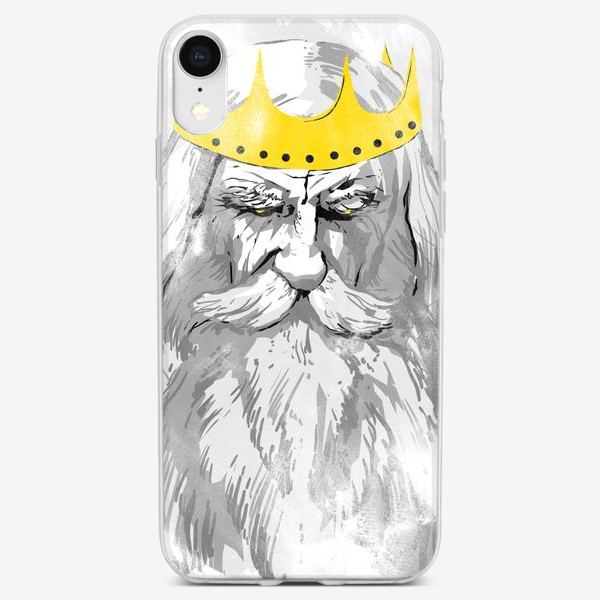 Чехол iPhone «Old King»