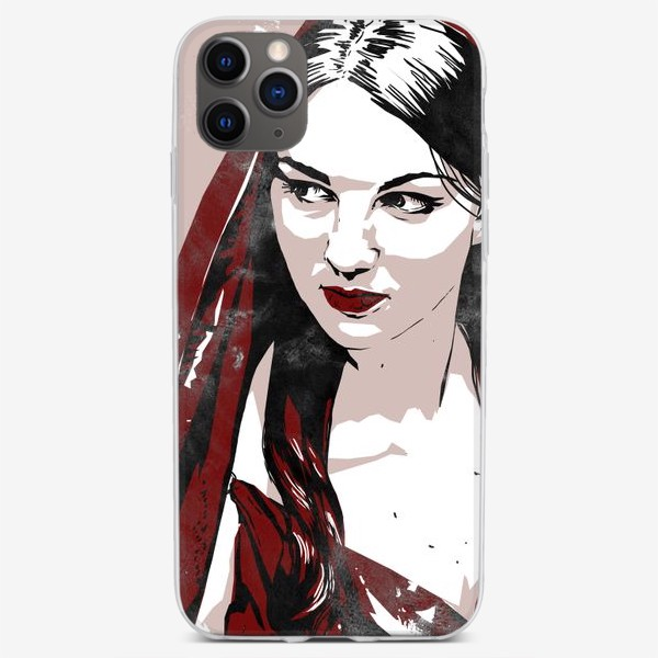 Чехол iPhone «Аня »