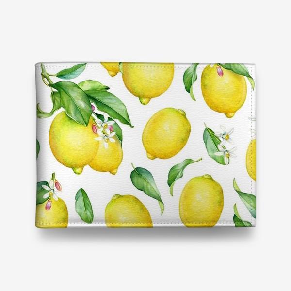 Кошелек «Паттерн с лимонами светлый»