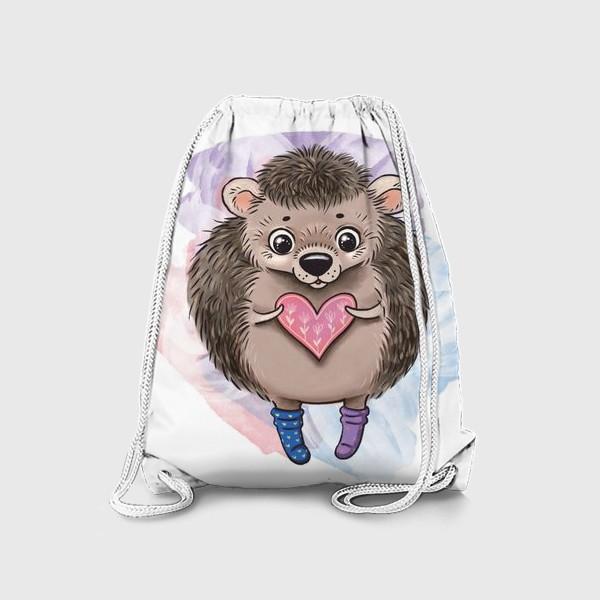 Рюкзак «Ежик в носочках»