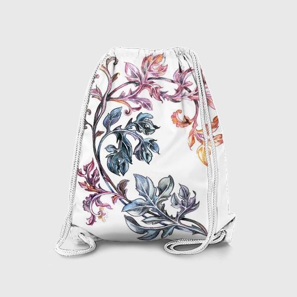 Рюкзак «Узорные листья»