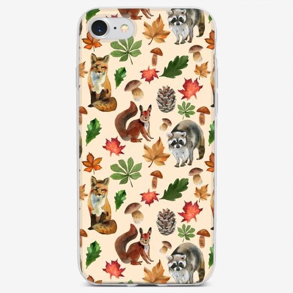 Чехол iPhone «лесные друзья»