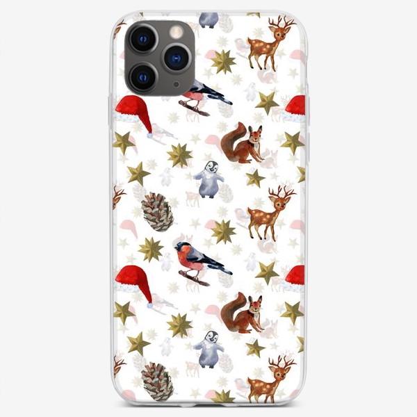 Чехол iPhone «праздник рождества»