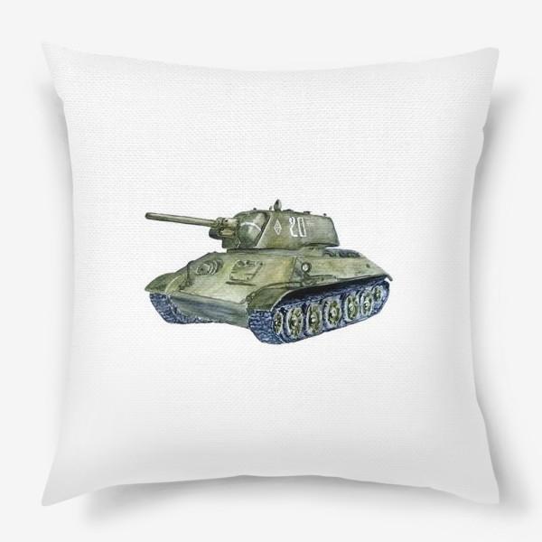 Подушка «Танк Т-34»