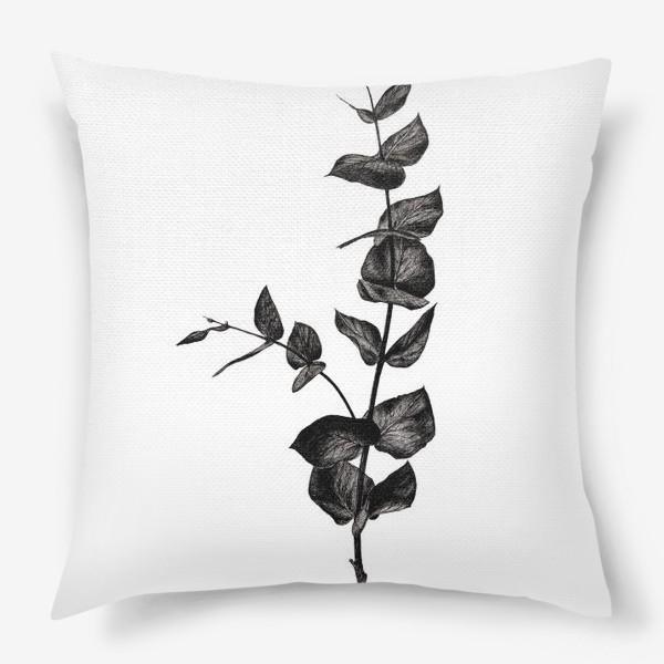 Подушка «Ветвь эвкалипта»