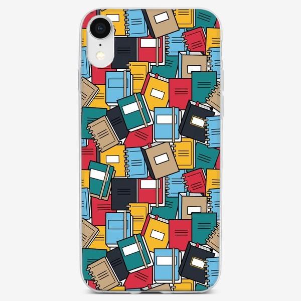 Чехол iPhone «Яркие тетради»