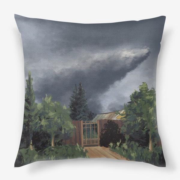 Подушка «Лето в деревне»