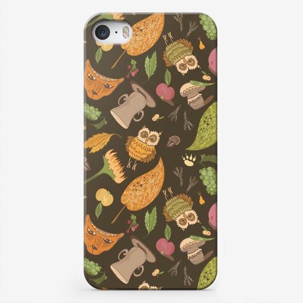 Чехол iPhone «Уютная осень»
