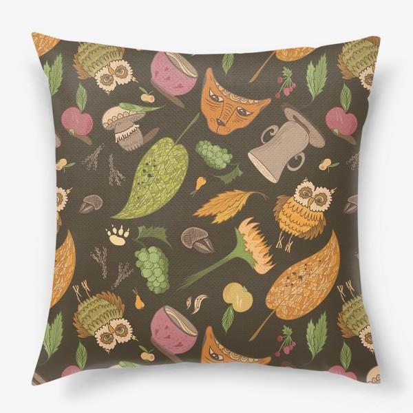 Подушка «Уютная осень»