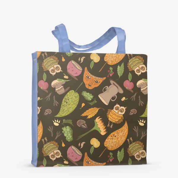 Сумка-шоппер «Уютная осень»