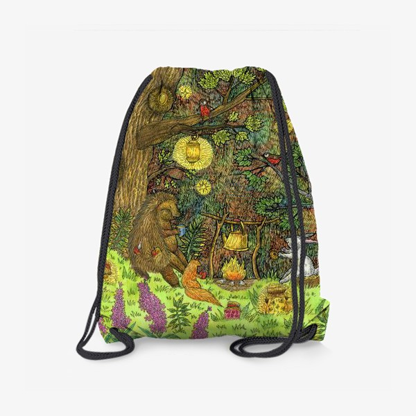 Рюкзак «Привал в лесу»