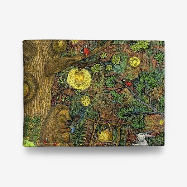 Кошелек «Привал в лесу»