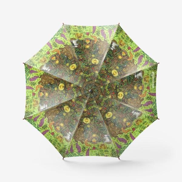 Зонт «Привал в лесу»