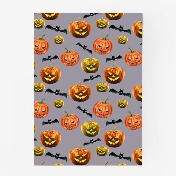 Постер «темная ночь Хеллоуина»