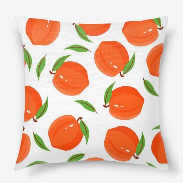 Подушка «Персики»