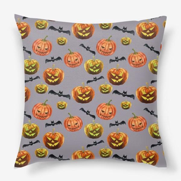Подушка «темная ночь Хеллоуина»