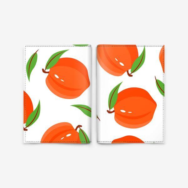 Обложка для паспорта «Персики»