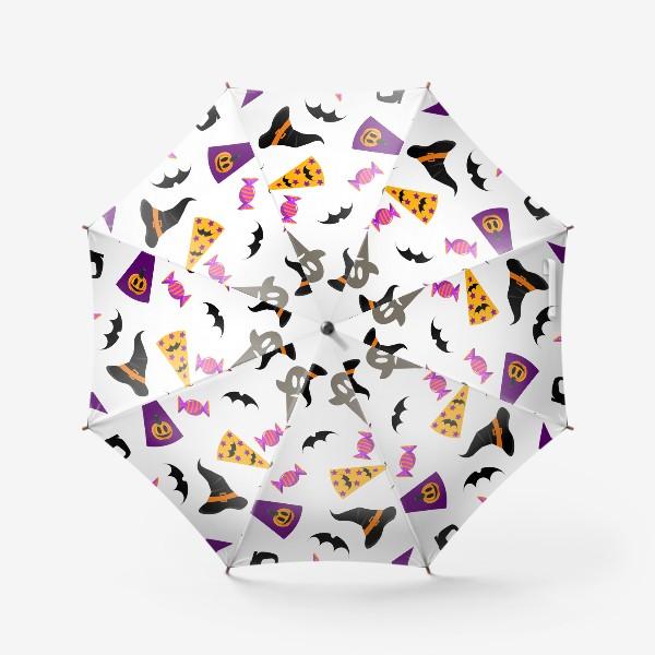 Зонт «Паттерн Хэллоуин. »
