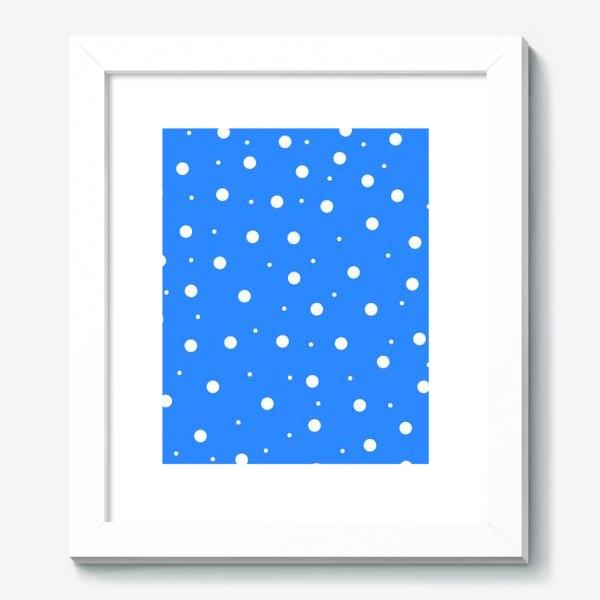 Картина «Cornflower peas»
